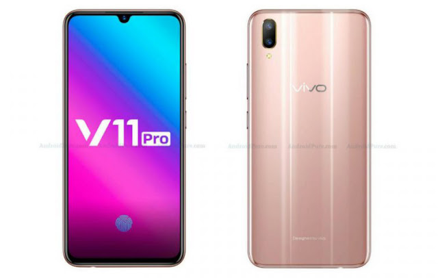 Spesifikasi lengkap Vivo V11 Pro, ditampilkan di situs web resmi sebelum peluncuran 6 September
