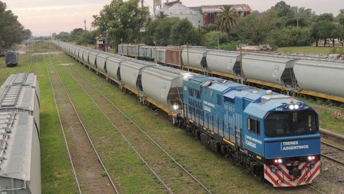Los ferrocarriles nacionales de carga marcaron otro récord: 2 millones de toneladas transportadas en el primer cuatrimestre