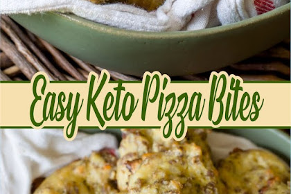 Easy Keto Pizza Bites