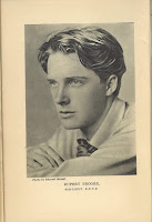 Photograph of Rupert Brooke by Sherrill Schell