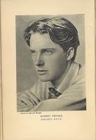 Photograph of Rupert Brooke by Sherrill Schell