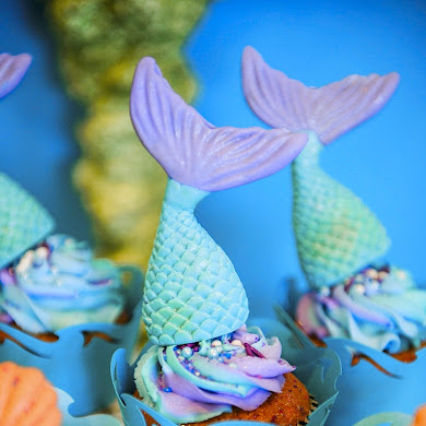 A Sparkly Under The Sea Birthday Party