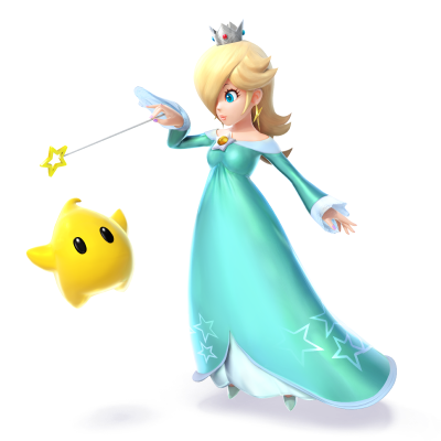 Princess Rosalina and Luma star