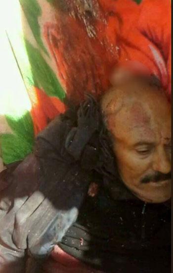 صور مقتل علي عبدالله صالح