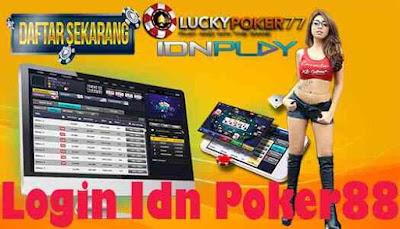 Login Idn Poker88