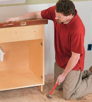 Kitchen And Bathroom Renovation: How to Install Base ...