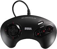 Incluye 2 mandos de juego clásicos de 3 botones.