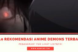 10 Rekomendasi Anime Demons Terbaik Dan Terpopuler