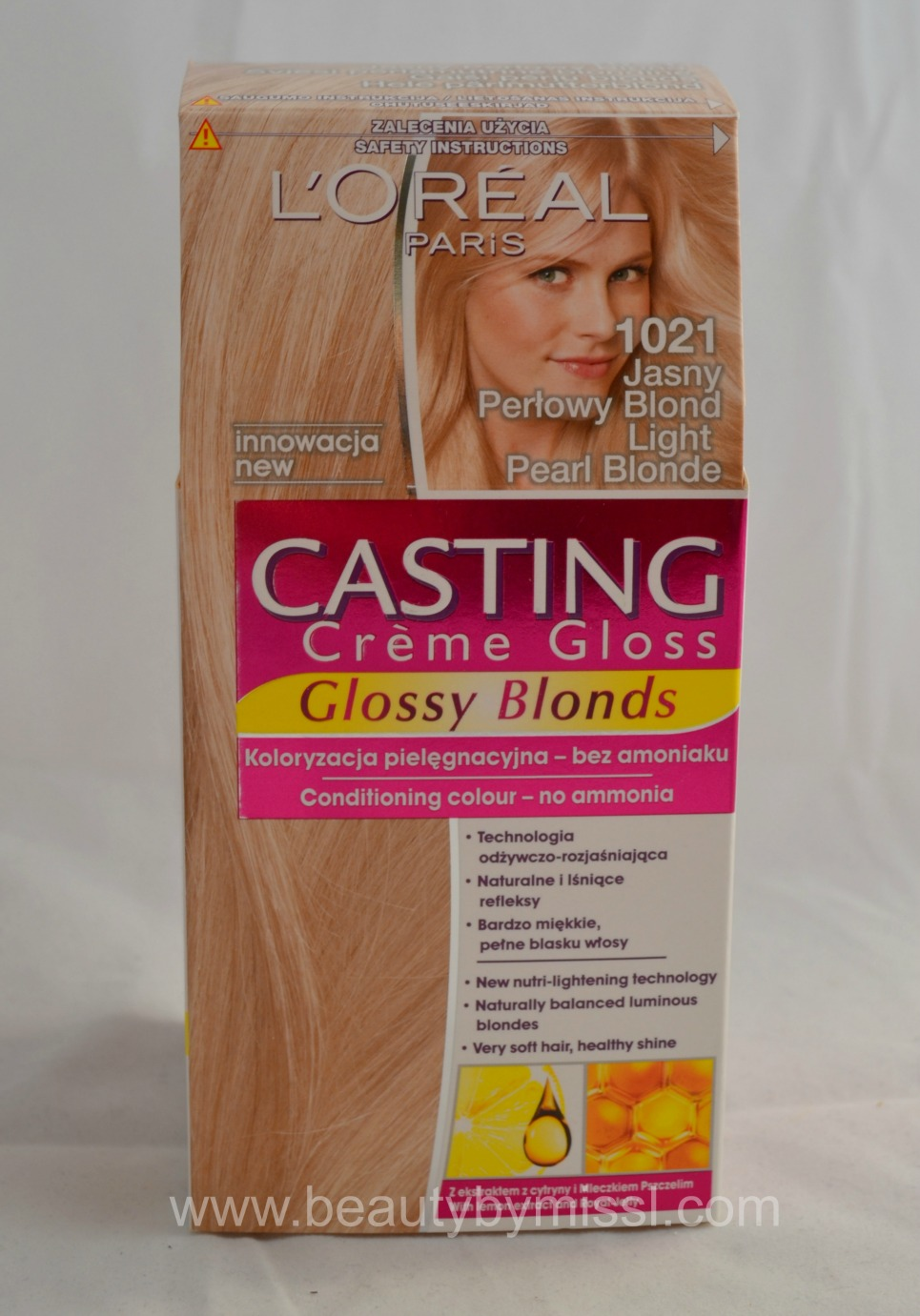1021 Light Preal Blonde