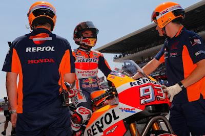 Tak Berdaya, Marquez Kembali Terjebak Pilihan Ban
