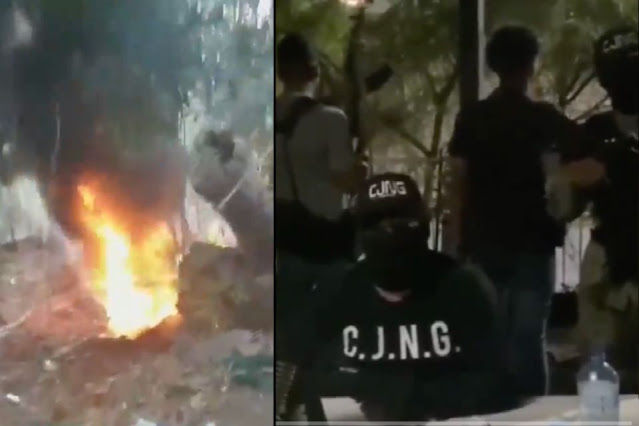 Video: Así fue como Los Pulido quisieron regresar ataque a El CJNG con drones pero estos fallaron y cayeron con explosivos en casas de habitantes capturan a Sicario y le cortan los pies por pasados