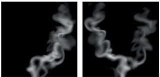 reposisi element untuk tehnik photoshop membuat asap