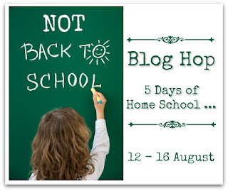 Not Back to School Blog Hop Logo