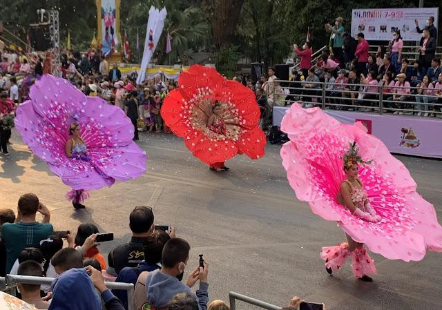 Flower Festival Thailand 2020 flower costume