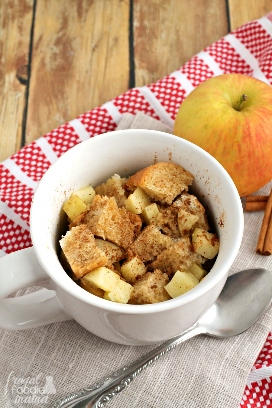 This Perfectly Portioned For One Apple Pie French Toast Takes Just A  Handful Ingredients And A
