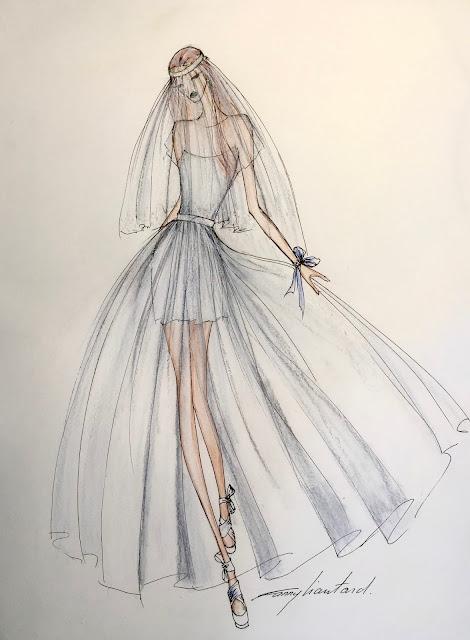 collection robes de ariages créateur Paris Fanny Liautard