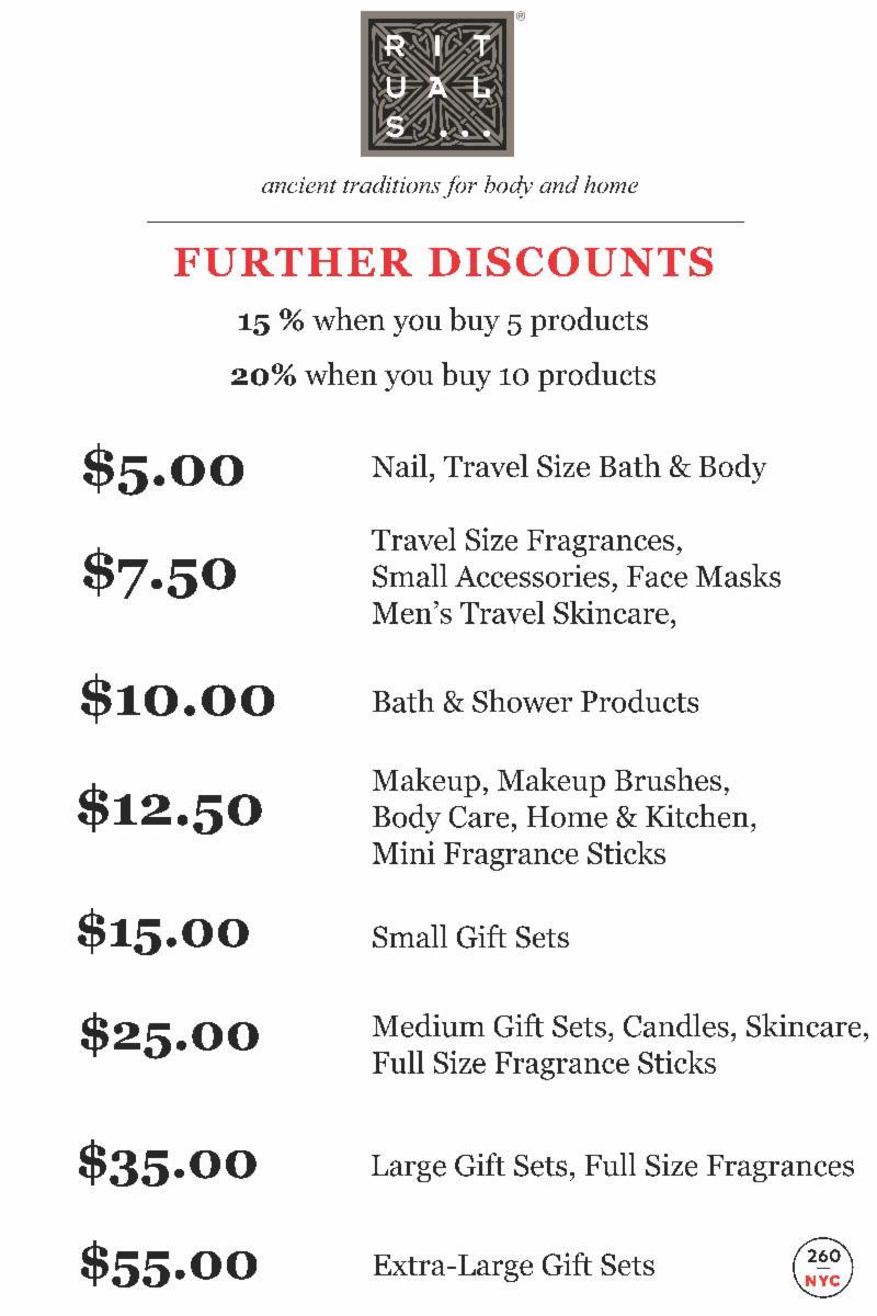 115c56c154264e fashionably petite: Rituals Sample Sale   9/18 - 9/23/18   Further ...