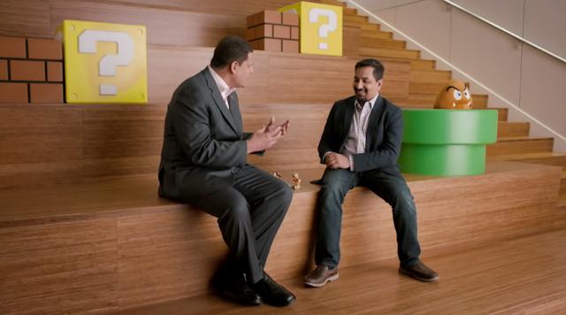 Karthik Bala Reggie Fils-Aime Vicarious Visions Activision Skylanders E3 2015 Nintendo