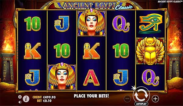 Main Gratis Slot Indonesia - Ancient Egypt Classic (Pragmatic Play)
