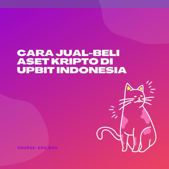 Cara Jual-Beli Aset Kripto di UpBit Indonesia