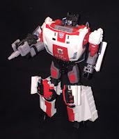 Red Alert Robot Mode