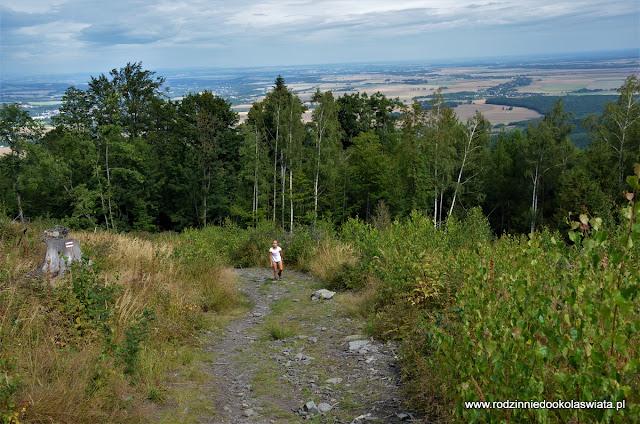 Sudety z dziećmi- Biskupia Kopa Góry Opawskie (Korona Gór Polski)