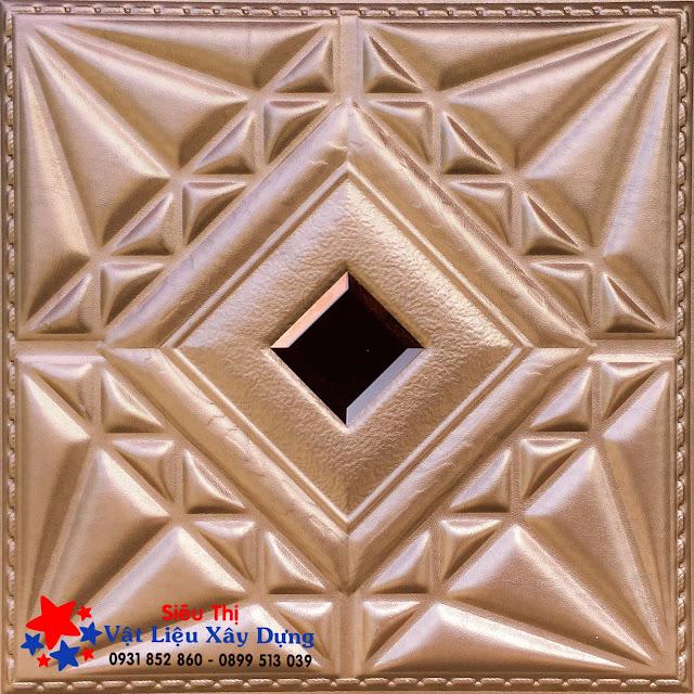 Tấm ốp PVC Da 3D màu ngọc trai