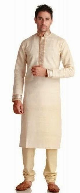 Contoh baju muslim pria untuk lebaran
