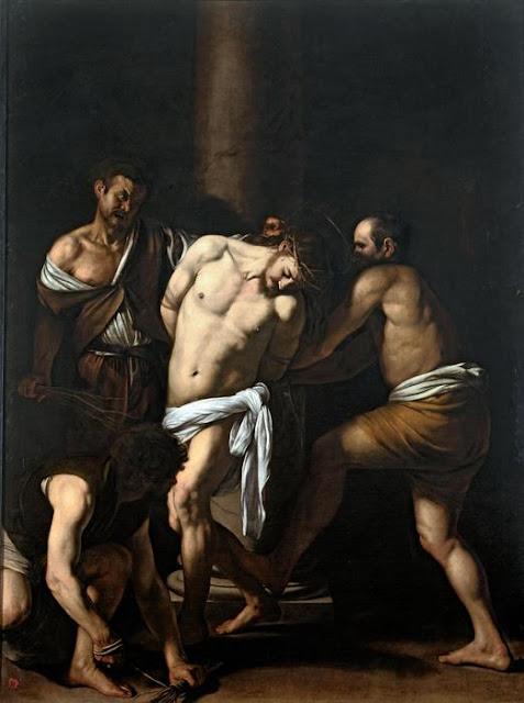Michelangelo Merisi da Caravaggio, Flagellazione di Cristo, 1607