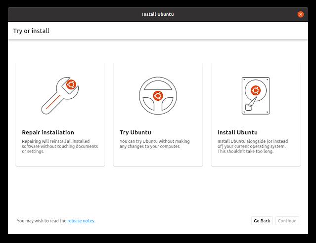 Ubuntu tendrá nuevo instalador con Flutter - Preview