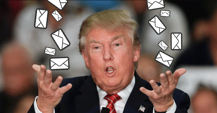 Donald Trump's Email Servers are Horribly Insecure — Researcher Reveals