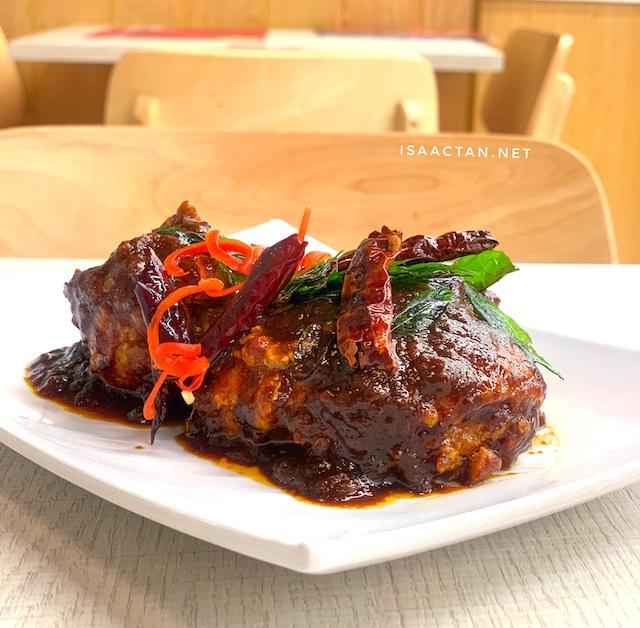 Flaming Koli Deepavali Promotion Menu @ The Chicken Rice Shop