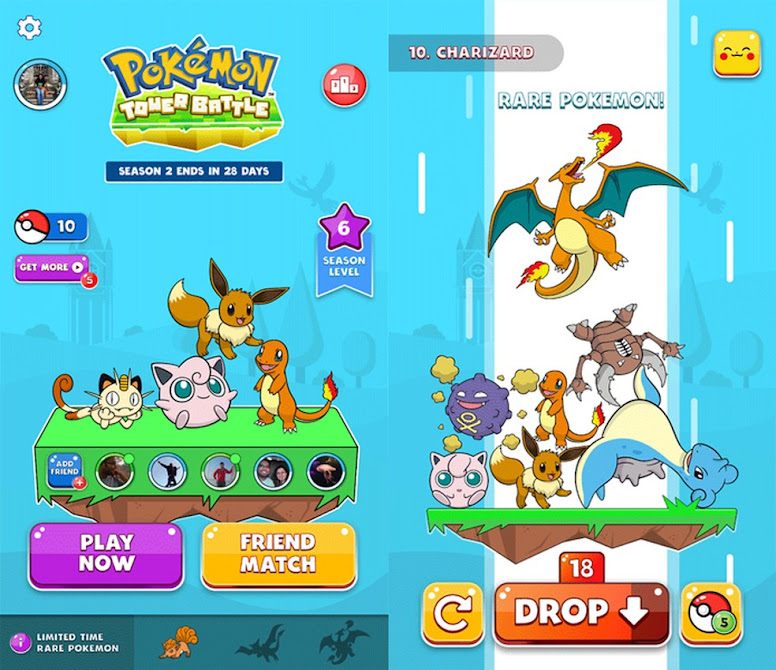 Pokémon Tower Battle Facebook Gaming
