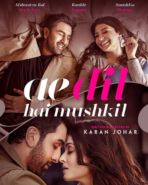 Ae Dil Hai Mushkil (2016) 720 Bluray Subtitle Indonesia