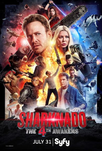Sharknado 4: The 4th Awakens (HDTV 720p Ingles Subtitulada) (2016)