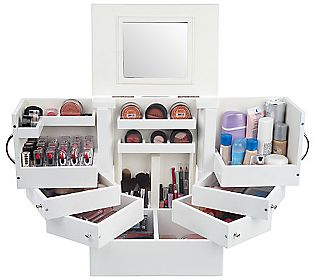 Girlyscout Tabletop Spinning Cosmetic Organizer By Lori Greiner