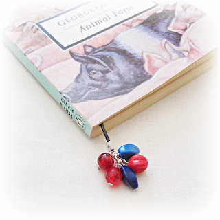 image diy tutorial beaded leather book thong red blue turquoise
