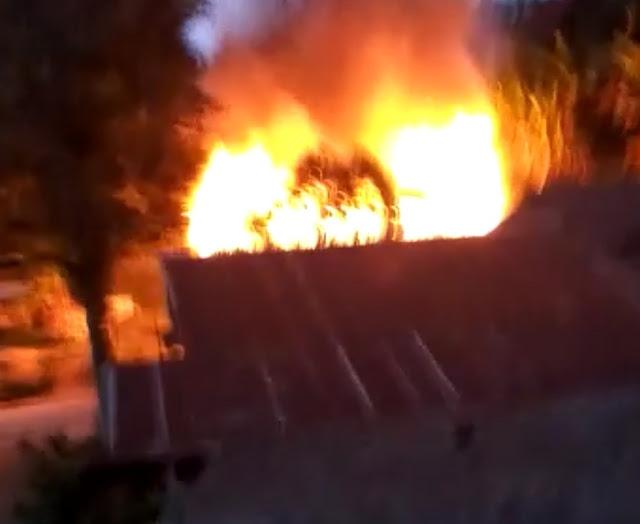 Satu Unit Rumah di Kete 'Kesu' Terbakar