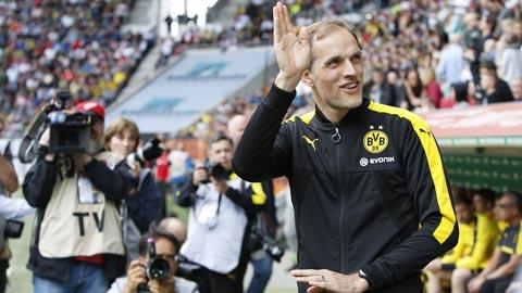 Tuchel thời còn là huấn luyện viên ở Dortmund