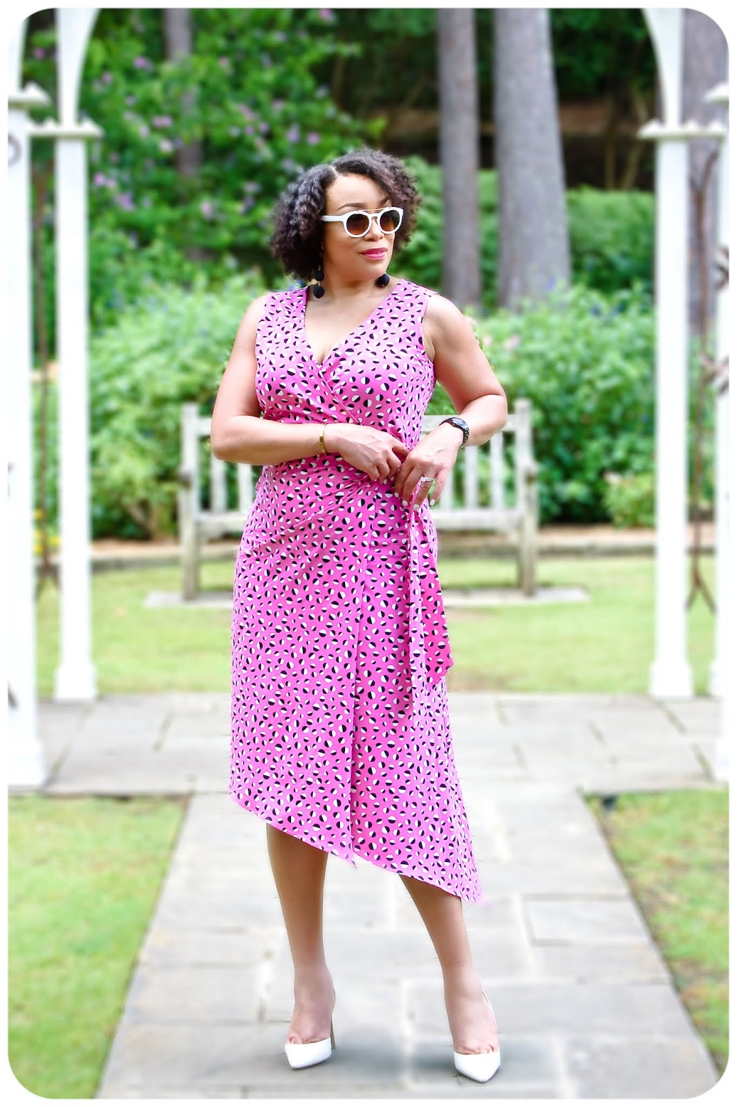 Vogue 7898 - Wrap Dress - Erica Bunker DIY Style!