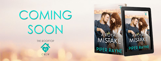 COVER REVEAL: A ROYAL MISTAKE by Piper Rayne