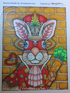 Animal Doodle Steampunk bunny