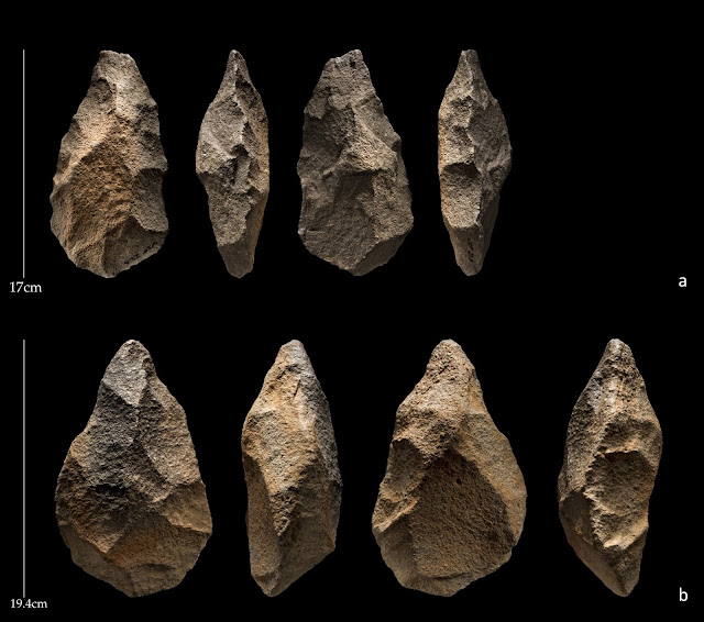Stone tools linked to ancient human ancestors in Arabia have surprisingly recent date