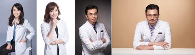 男女醫師形象照專業形象照