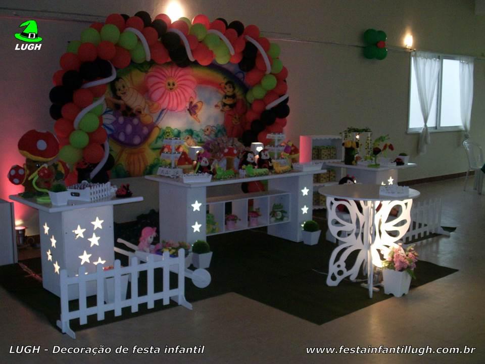 temática provençal para festa infantil  Festa Infantil Lugh