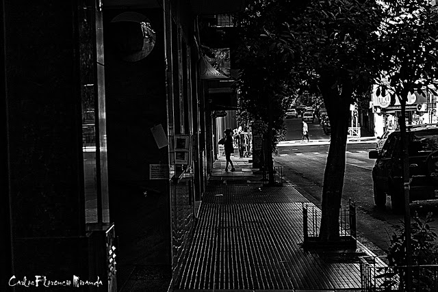 Fotografía urbana en Blanco y Negro.