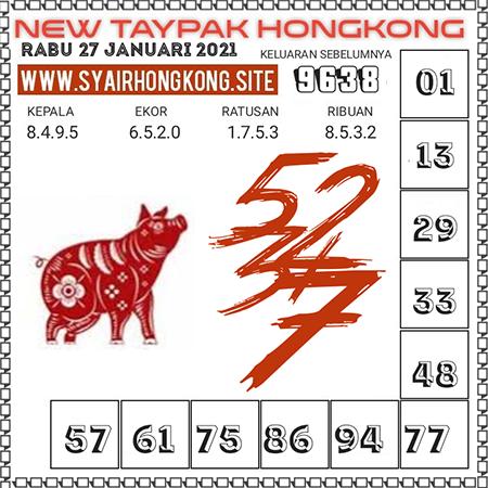 Prediksi Togel New Taypak Hongkong Rabu 27 Januari 2021