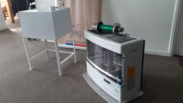 Recambio calefactores