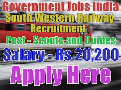 South Western Railway Recruitment 2017