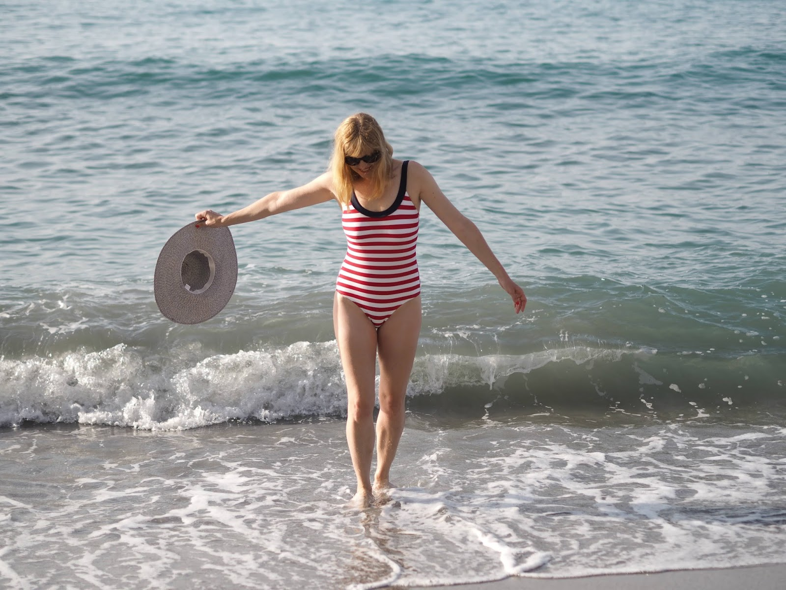 Red-white-striped-swimsuit-holiday-Nerja